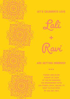 Lali<BR> + <BR>Ravi Weddings