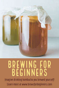 Brown and Yellow Brewing Pinterset Graphic Pinterest