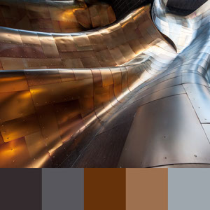 Color Palettes | Metallics 5 101 Brilliant Color Combos