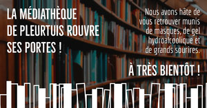 Dark Brown Bookshelves Library Opening Facebook Post Annonce Facebook