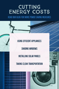 Blue and White Cutting Energy Costs Pinterest Bike