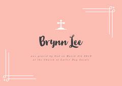 Brynn Lee Baptism