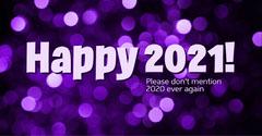 Purple Lights 2021 Instagram Landscape Fireworks