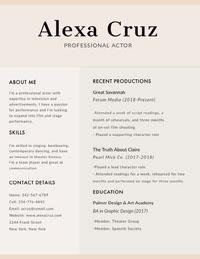 Alexa Cruz  Ansioluettelo