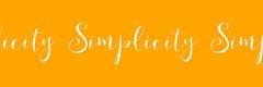 Simplicity Simplicity Simplicity Yellow