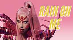Pink Lady Gaga Rain On Me Twitter Post