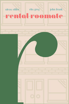 Brown and Green Book Cover Typography
