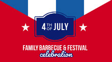 Blue White and Red Barbecue Festival Twitter BBQ Menu