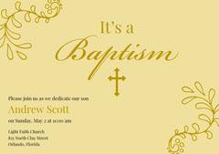 Baptism  Baptism