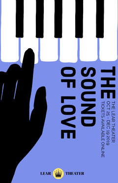 Blue Illustrated Piano Keys Romance Theater Play Poster Play Poster