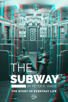 Subway Glitch Book Cover Couverture de livre