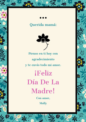 mothersdaycards Tarjeta de día festivo