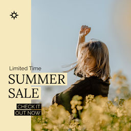Summer Sale Instagram Square