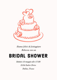 Bridal Shower  Boda