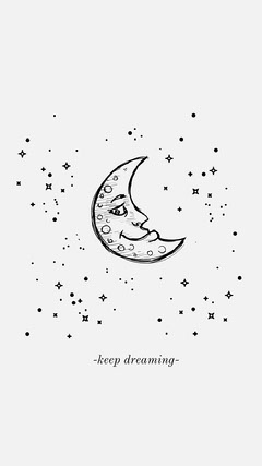 -keep dreaming- Moon