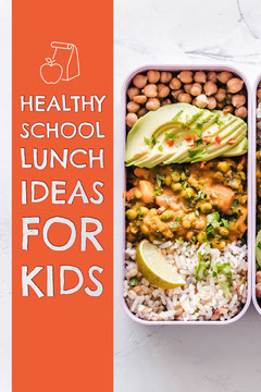 Red Healthy School Lunch Ideas Pinterest Wellness