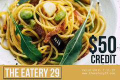 Yellow and Fresh Pasta Gift Certificate  Gift Card