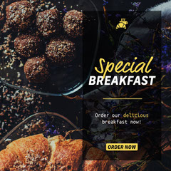 Special Breakfast Instagram Square Breakfast