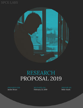 Blue Science Research Business Proposal Offerta