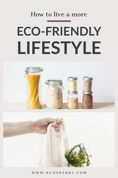 Bright Eco Friendly Pinterest Lifestyle