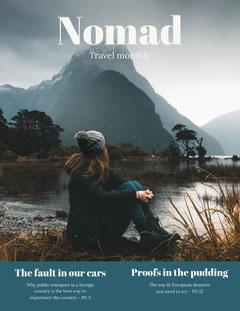 nomad magazine cover  Trees