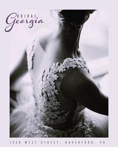 Grey Bridal Shop Instagram Portrait  Dress
