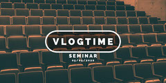 Vlogtime Seminar Eventbrite Seminar Flyer