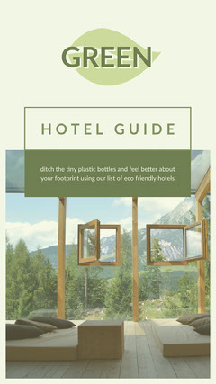 Green Hotel Guide Social Post Hotels