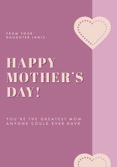 HAPPY MOTHER'S DAY! Holiday