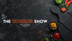Black Background Flat Lay Photo Cooking Show Youtube Channel Art Art Show