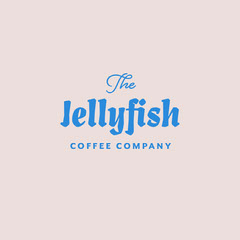 Pink & Blue Coffee Company Logo Coffee
