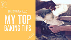 Yellow Baking Youtube Thumbnail Yellow