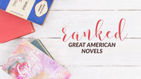 White and Pink Great American Novels Blog Book Cover