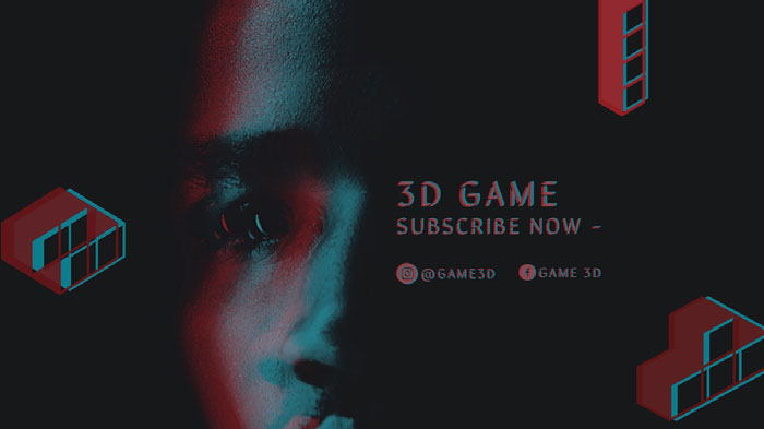 3D GAME Banner Ideas