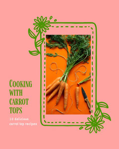 pink and green carrot top recipe instagram portrait  Fruit