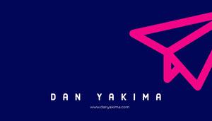 Dan Yakima  Business Card