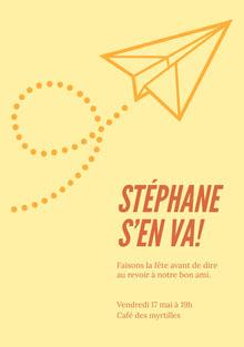 Stéphane  Invitation
