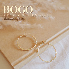 Gold Jewelery Instagram Square Ad Bogo