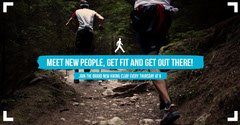 Meet new people, get fit and get out there! Health Posters