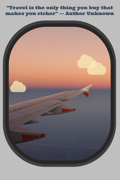 travel plane window quote Pinterest  Planes
