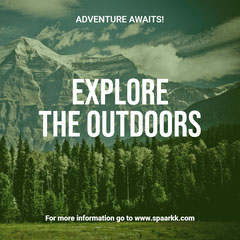 Explore <BR>the outdoors Adventure
