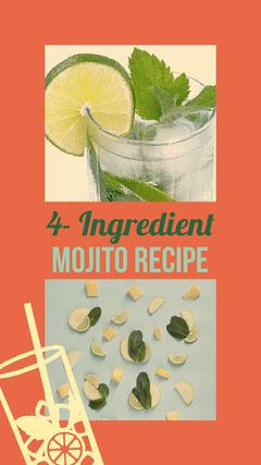 4- Ingredient Mojito Recipe Food