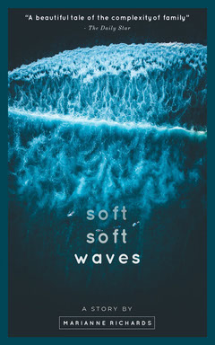 Soft Waves Kindle Cover  Ocean