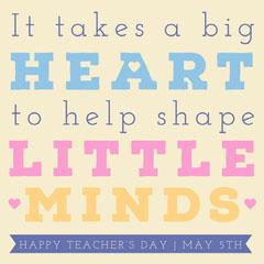 Teacher's Day Instagram Square Teacher