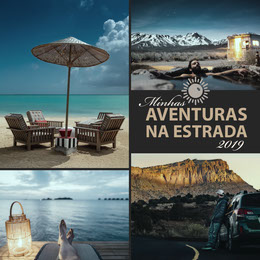 roadtrip adventure instagram Colagem de fotos