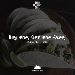 Taco Tuesday Deal Instagram Square Healthy