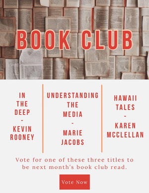 Red Book Club Newsletter Newsletter