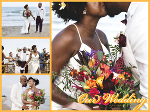 Yellow Four Image Online Wedding Album Wedding Photo Album