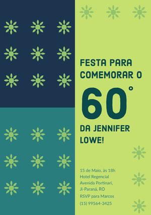 60 Convite para festa