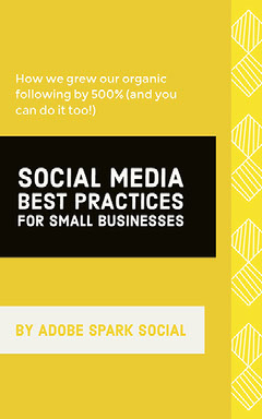 Yellow and Black, Minimalistic Social Media Book Cover Flyer  Social Media Flyer